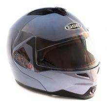 Шлем модуляр GSB G-339 Grey Met