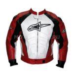 Мотокуртка Alpinestars Black White & Red