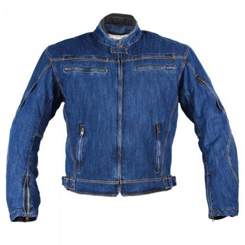 Джинсовая мужская мотокуртка BOSA VEGAS CLASSIC BLUE