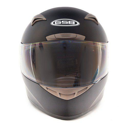 Мотошлем интеграл GSB G-335 Black Matt