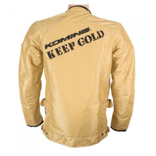 Куртка Komine KEEP GOLD M-JKT цвет золотой