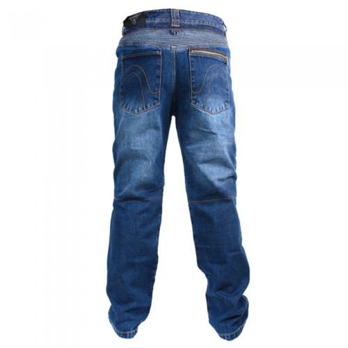 Мотоджинсы BOSA, мужские цвет синий