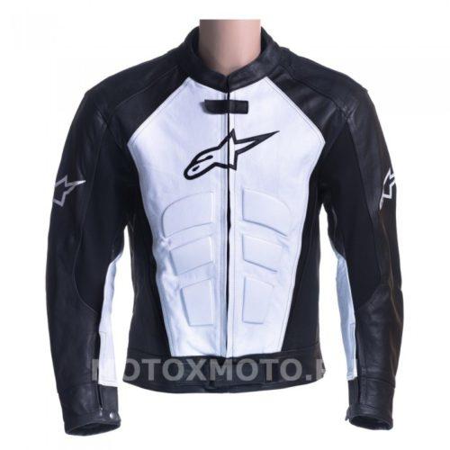 Мотокуртка Alpinestars Black & White