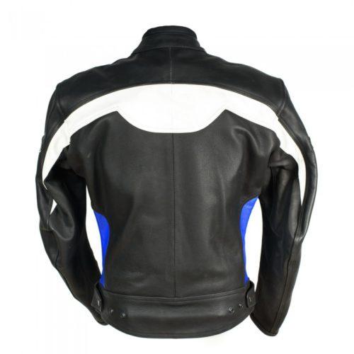 Мотокуртка Ivagio мужская, цвет черный синий