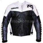 Мотокуртка Yamaha R6 Black White & Gunmetal
