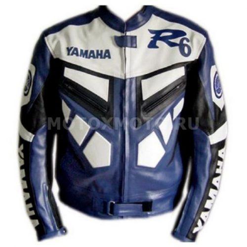 Мотокуртка Yamaha R6 Blue and white