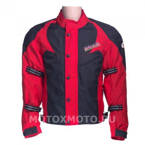 Текстильная мотокуртка Rover Red