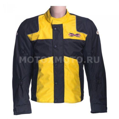 Текстильная мотокуртка Rover Yellow