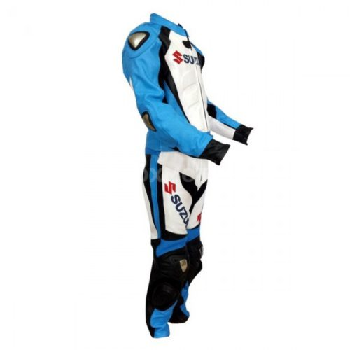 Suzuki Gsxr Blue кожаный мотокомбинезон