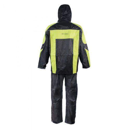 Защитный костюм от дождя и грязи LOTUS цвет черный желтый