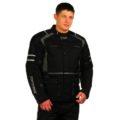 Текстильная мотокуртка BLACK MOON black