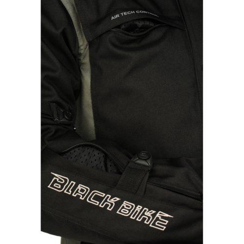 Текстильная мотокуртка BLACK MOON white