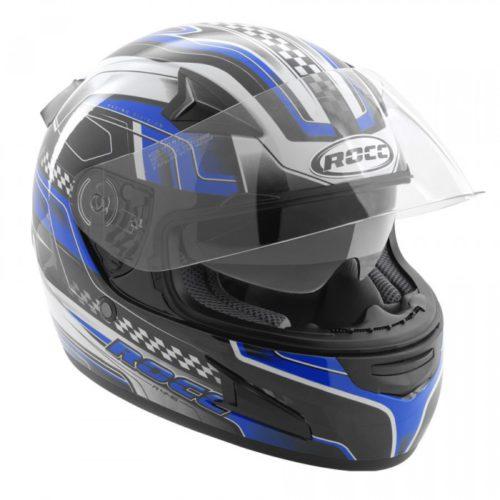 Мотошлем интеграл ROCC 446 BLUE