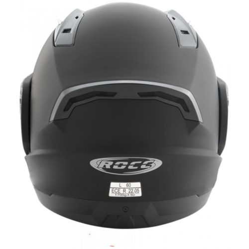 Мотошлем модуляр ROCC 640 BLACK MATT