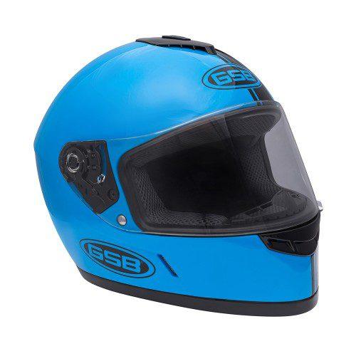 Шлем интеграл GSB G-349 BLACK & BLUE