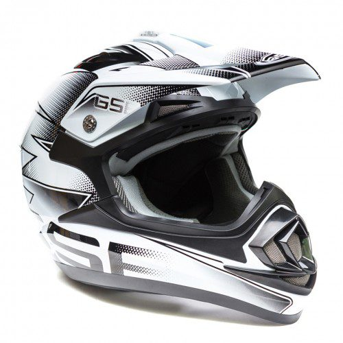 Кроссовый шлем XP-14 B PRO RACE GREY