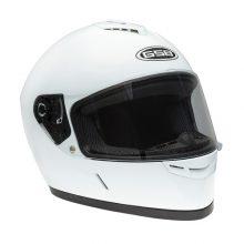 Шлем интеграл GSB G-349 WHITE GLOSSY