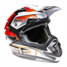 Кроссовый шлем XP-14 B PRO RACE ORANGE