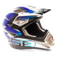 Кроссовый шлем GSB XP-14 B PRO RACE BLUE