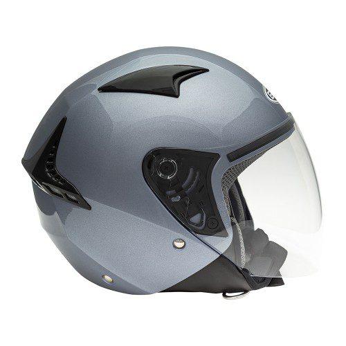 Открытый шлем GSB G-240 GREY METAL