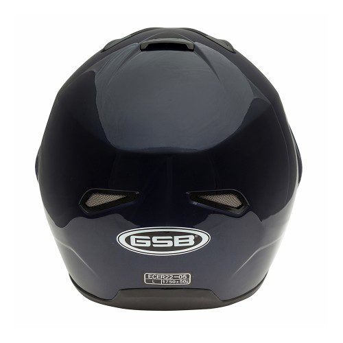 Шлем модуляр GSB G-339 BLUE MET