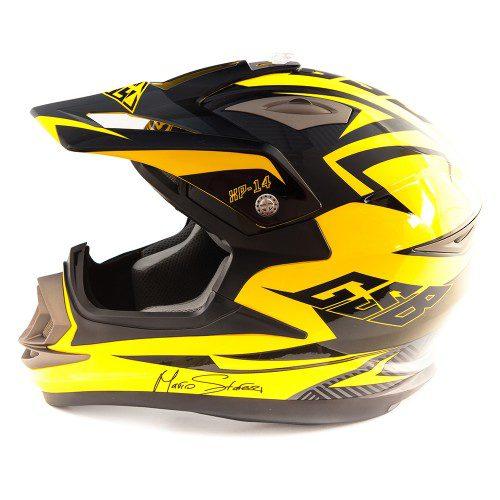 Кроссовый шлем GSB XP-14 YELLOW