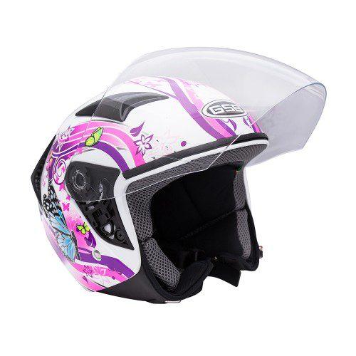 Открытый шлем GSB G-240 BTF WHITE