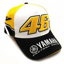 "Бейсболка ""YAMAHA"" (чёрно-бело-жёлтая)"