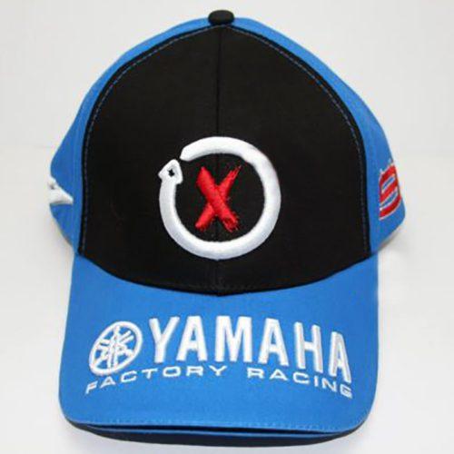 """Бейсболка """"YAMAHA"""" (чёрно-синяя)"""