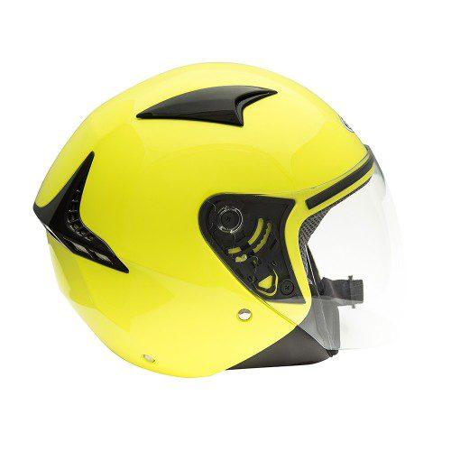 Открытый шлем GSB  G-240 FLUO YELLOW