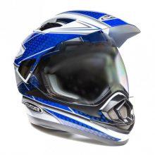 Кроссовый шлем GSB XP-14 A White Blue