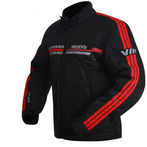Мотокуртка текстильная NERVE NTJ02B - Swift touring Jacket (черно-красный)