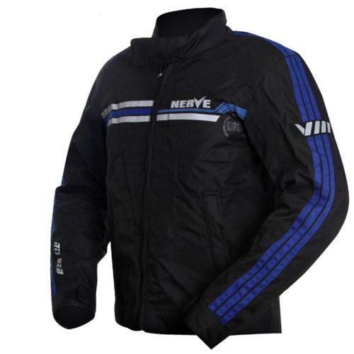 Мотокуртка текстильная NERVE NTJ02B - Swift touring Jacket (черно-синий)