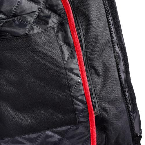 Мотокуртка текстильная мужская FIT/BLACK