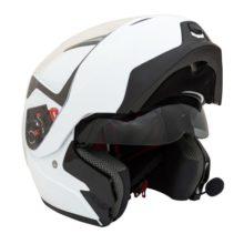 Шлем GSB G-339 WITE GLOSSY BT с системой Bluetooth