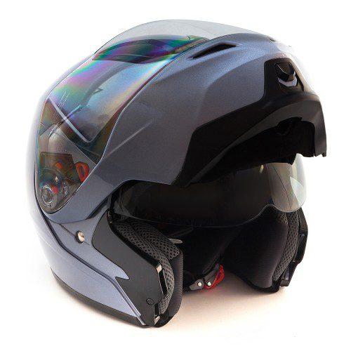 Шлем GSB G-339 GREY MET BT с системой Bluetooth