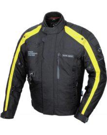 Мотокуртка текстильная муж. HIT-AIR GS-3 yellow (с air-bag system) разм. XL