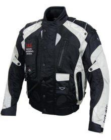 Мотокуртка текстильная муж. HIT-AIR JP-3 silver (с air-bag system): размер: XXL