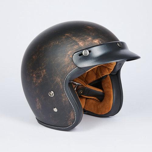 Шлем открытый + очки Nerve A500 (бронзовый)