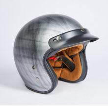 Шлем открытый + очки Nerve A500 (стальной)