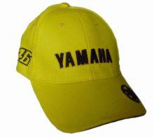 "Бейсболка   ""YMH""   (желто-черная, 100% хлопок)"