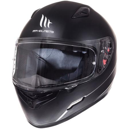 Шлем MT MUGELLO single mono MATT BLACK