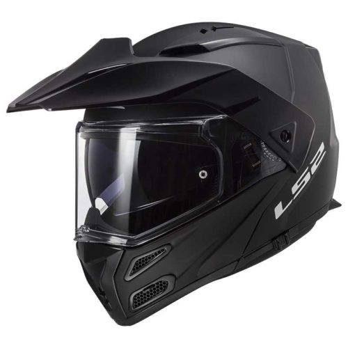 Шлем модуляр FF324 METRO SINGLE MONO MATT BLACK