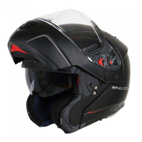 Шлем модуляр MT ATOM SV solid MATT BLACK