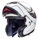 Шлем модуляр MT ATOM SV solid GLOSS PERL WHITE